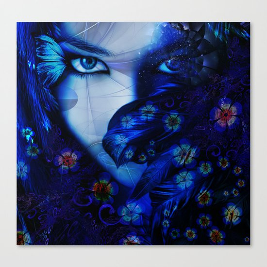 Blue Sapphire Canvas Print