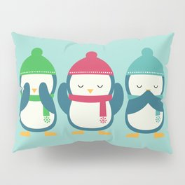 No Evil In Holiday Pillow Sham