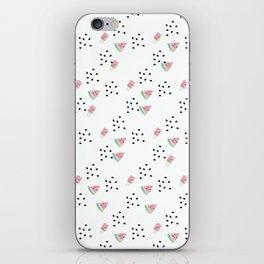Watercolor Watermelon Sweet iPhone Skin