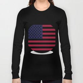 flag of the united states Long Sleeve T-shirt