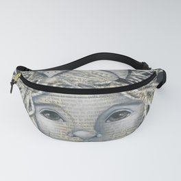 Girl Bird Forest Nymph  Fanny Pack