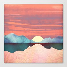 Pink Oasis Canvas Print