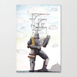 Sky Dwellers Canvas Print