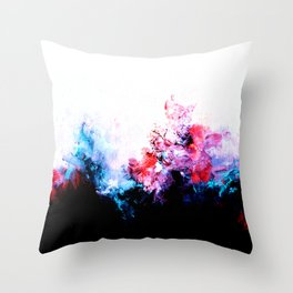 The Fog (Bright, Inverted) Throw Pillow
