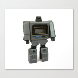 Wrist Watch Robot Canvas Print