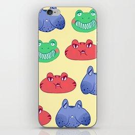 frog krew iPhone Skin
