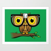 The Little Wise One Art Print