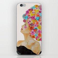 camelia in black iPhone & iPod Skin