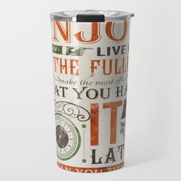 Now Is The Time Travel Mug