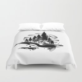 GREETINGS FROM THE PACIFIC NORTHWEST Duvet Cover