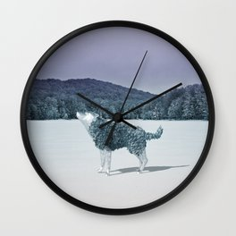 Lonewolf Wall Clock