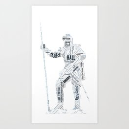 Hall Reiver Art Art Print