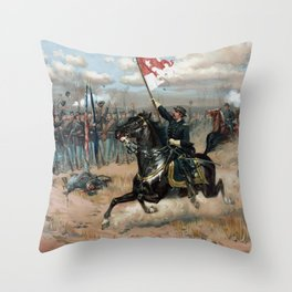Sheridan's Ride -- Civil War Throw Pillow