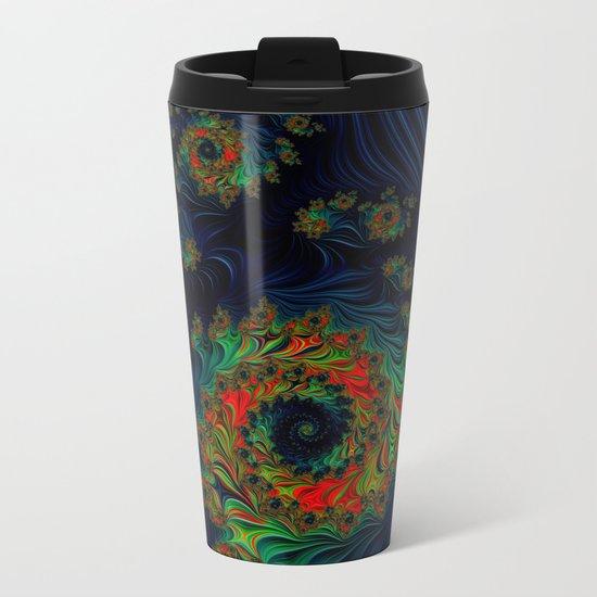 Midnight Galaxy Metal Travel Mug