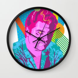 STAN :: Memphis Design :: Miami Vice Series Wall Clock