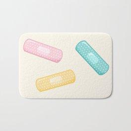 Pastel Plasters Bath Mat