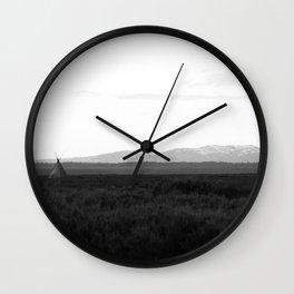 American West 003 Wall Clock