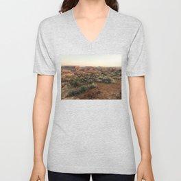 Monument Valley Morning Unisex V-Neck