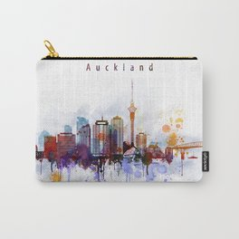 Auckland New Zealand Cityscape Carry-All Pouch