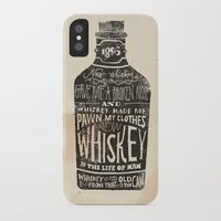 jon snow iPhone & iPod Cases featuring Whiskey by Jon Contino