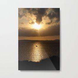 Majorca Sunset Metal Print