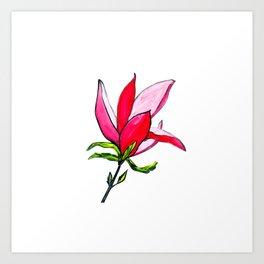 Magnolia the Anarchist Art Print