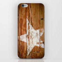Faded Star iPhone Skin