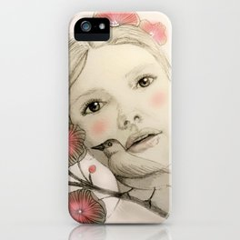 melodie in blush iPhone Case