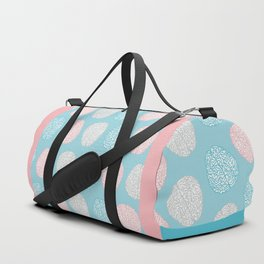 Pastel Brains Pattern Duffle Bag