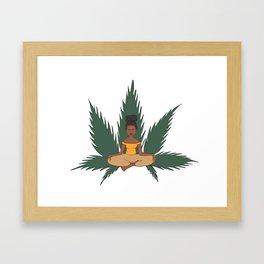Meditation 2 Framed Art Print