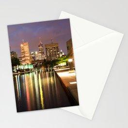 Indianapolis Skyline Stationery Cards