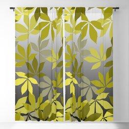 autum chestnut leaves  Blackout Curtain