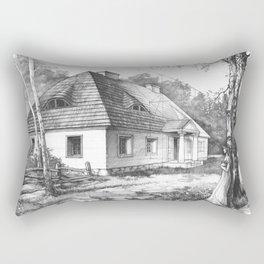 Traditional Polish Mansion Rectangular Pillow