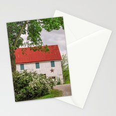 Barn at The Farm Stationery Cards