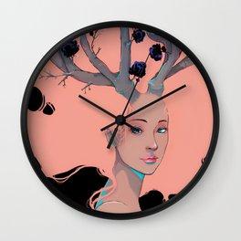 Lady Cornue. Wall Clock