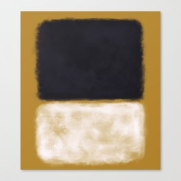 Rothko Inspired #10 Canvas Print