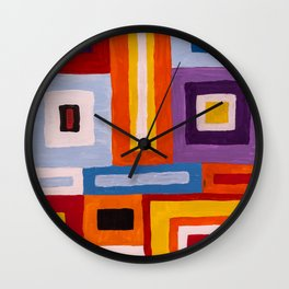 Built environment Wall Clock