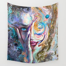 Swirling Sensation Wall Tapestry