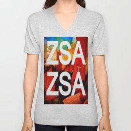 Zsa Zsa (for Craig) Unisex V-Neck