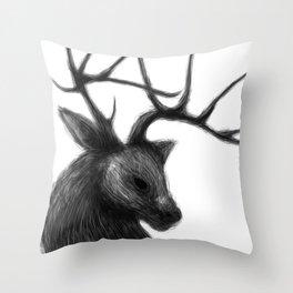 Totem of vigilance Throw Pillow