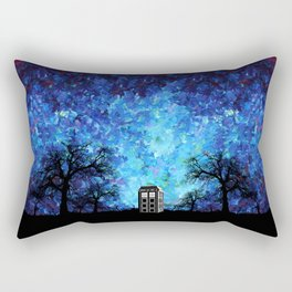 Lonely Tardis Doctor who Art painting iPhone 4 4s 5 5c 6, pillow case, mugs and tshirt Rectangular Pillow