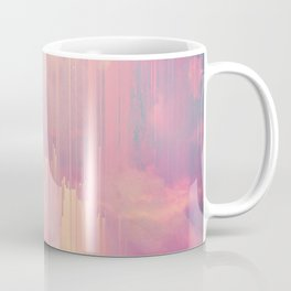 Candy Glitched Sky Coffee Mug