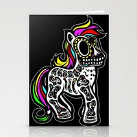 mlp Stationery Cards featuring Sugarskull MLP by BURPdesigns