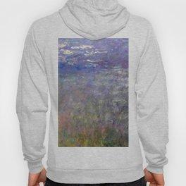 1926-Claude Monet-Water Lilies-199 x 425 Hoody