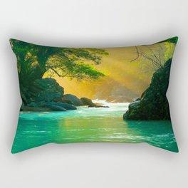 Waterflow Rectangular Pillow