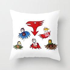 Gatchaman! Throw Pillow