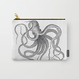 Engraving Octopus Carry-All Pouch