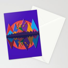 Mountain Scene #8 Stationery Cards