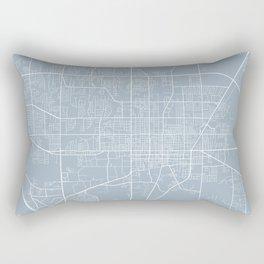 Gainesville Map, USA - Slate Rectangular Pillow