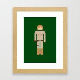 Luke 02 Framed Art Print